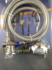 BBQ Conversion Kit  with Natural Gas Regulator  Use Natural Gas NO LPG CYLINDER