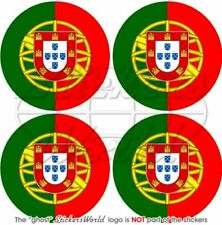 "PORTUGAL Portuguese 50mm (2"") Bumper-Helmet Stickers x4"