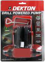 Dekton Heavy Duty Drill Powered Water Pump