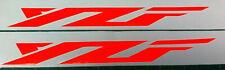 2 X  FLUORESCENT ORANGE  YAMAHA YZF  VINYL DECAL STICKERS  180MM LONG