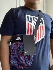 🔥Nike SB 2.0 Print  Shoulder Bag Crossbody/ Hip Travel Bag Unisex  NWT🔥