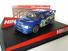 """SCX Scalextric Slot Ninco 50328 Subaru WRC """"New Zealand '03"""" ProRace"""