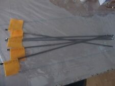 5 Ice Fishing Tip-Up Flags 22 Inch Orange Flag With Hardware Included