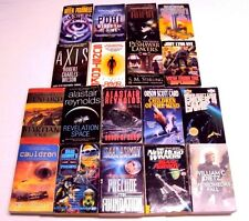 Lot 18 Sci-Fi PB Book Novel Alastair Reynolds/Isaac Asimov/Orson Scott Card...