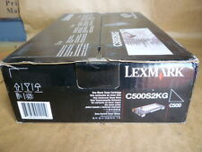 Lexmark C500S2KG Standard Yield Black Toner Cartridge Genuine