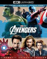 The Avengers 4k Ultra HD + Blu-ray Robert Downey Jr.