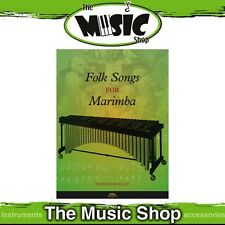 New Folk Songs for Marimba Music Book