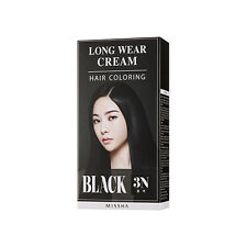 [Missha] Long Wear Cream Hair Coloring Black