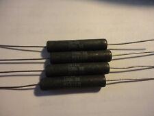 4pcs Dale Cw10 100 Ohm 10w 5 Wirewound Resistor