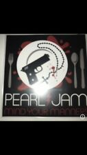 "PEARL JAM ""MIND YOUR MANNERS"" VIRGIN RECORDS CD PROMO"
