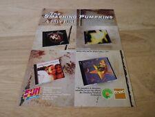 THE SMASHING PUMPKINS - DISCOGRAPHY  !!!!!VINTAGE FRENCH PRESS ADVERT