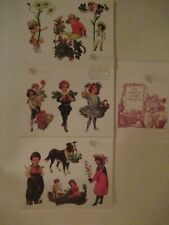 The Gretna Collection Victorian Paper Dolls 90 Sheets Series 1 2 3 New