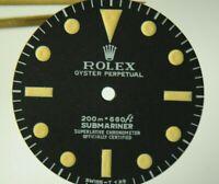 REFINISHED ROLEX 5512 SUBMARINER 200M BLACK DIAL