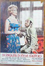 LOTTO SET 9 FOTOBUSTE LOBBY CARD LA RAGAZZA SOTTO IL LENZUOLO GIROLAMI CINEMA