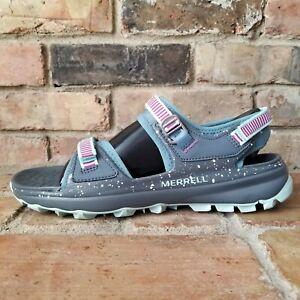 Merrell J52768 Women's Choprock Strap Hiking Sandal Blue Smoke Size 10 US (M)