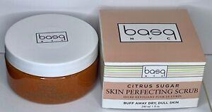 Basq NYC Citrus Sugar Perfecting Scrub NIB  8 oz/240 mL Full Size Sell By 08/22