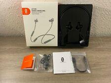 A1~TaoTronics Active Noise Cancelling Neckband Bluetooth Headphones ANC Black