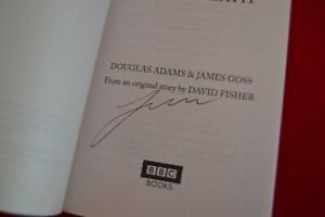 Doctor Who: VENGEANCE ON VAROS Target Book Signed by Colin Baker