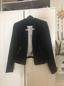 F&F Size 12 Black Smart Jacket Blazer