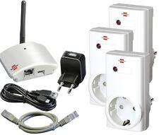 Brennenstuhl Brematic Home Gateway GWY 433 3 Funksteckdosen RCS 1000 Starter Kit