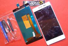 GLS: DISPLAY LCD+TOUCH SCREEN per WIKO FEVER 4G ORIGINALE +ATTREZZI VETRO BIANCO
