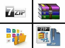 7ZIP - ZIP UNZIP RAR WINDOWS FILE ARCHIVE COMPRESSION COMPATIBLE WINZIP WINRAR