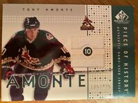 Tony Amonte Phoenix Coyotes SP Game Used 2002-03 Jersey Card 185/225