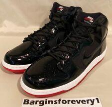 "Nike SB Zoom Dunk High TR QS ""Bred"" - Size 9 - Black/White-Red - AJ7730-001"