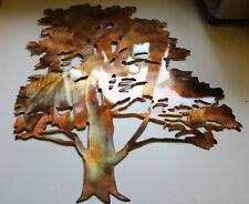 Cedar Tree Metal Wall Art Decor