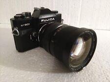 Vintage FUJICA ST901 Camera w/ BUSHNELL BAUSCH & LOMB f/3.5 35-105mm Zoom Lens
