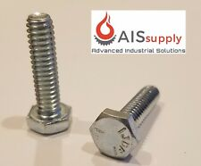 "(50) 1/4""-20 x 1"" (FT) Hex Cap Screws, Grade 5 Zinc"