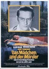 095 CARTE POSTALE film ASSASSINAT DE TROTSKY avecA Delon R Burton Romy Schneider