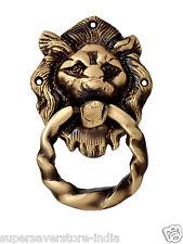 Antique Brown  Victorian Lion Face Door Knocker size 9.00 X 14.00 X 2.00 cms