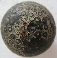 VINTAGE GOLF BALL- UNUSUAL COVER DESIGN-WATER CORE BY ST. MUNGA CIRCA 1912