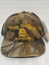 Engel Haupt Embroidery Ball Hat Singer Bee Yards Orrville Ohio