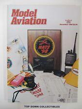Model Aviation Magazine     December  Nationals    Scrapbook  1998