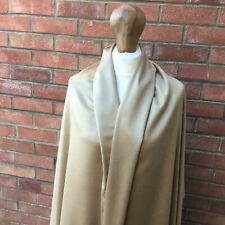 100%PURE CASHMERE VELOUR FABRIC Johnstons of Elgin  very light neutral colour