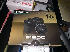 NEW Fujifilm FinePix S Series S1800 12.2MP Digital Camera - Black