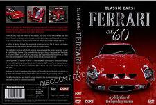 FERRARI AT 60. A CELEBRATION OF THE LEGENDARY MARQUE. NEW DVD
