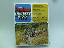 NEW PREISER MILITARY 1/72 WW2 GERMAN RESTING INFANTRY 72505 ARMY FIGURE KIT WWII