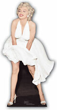 MARILYN MONROE WHITE DRESS BLOWING UP CARDBOARD CUTOUT iconic hollywood star
