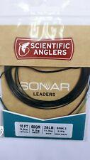 """Scientific Anglers """" Sonar """" Leaders 10Ft 50Gr 25Lb Sink 3 = 3 ips"""