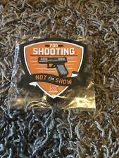 2020 Shot Show Glock Patch Las Vegas For Shooting Not For Show