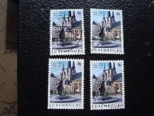 LUXEMBOURG - timbre yvert et tellier n° 1338 x4 obl (A30) stamp