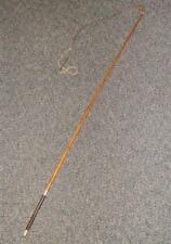 Victorian Horse Carriage Driving Whip H/M Silver  1884 'G&J_ZAIR Makers London'