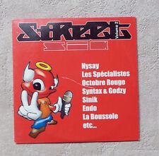 CD / STREET ZIK VOL. 2 CD COMPILATION RAP NYSAY, SINIK, RSP.... 2006