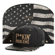 Cappello black/gold fuckin problems baseball snapback hats caps for men/women 01