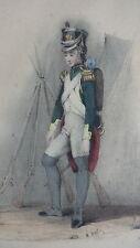 GRAVURE MILITAIRE ANCIENNE 19e - PUPILLE DE LA GARDE 1811