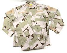 USGI Medium Reg 3 Color Desert Camo DCU RAID Field Combat Pants/Shirt Set BDU
