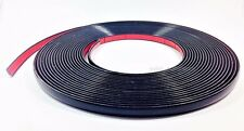 15mm x 5m BLACK TRIM MOLDING STRIP ADHESIVE INTERIOR EXTERIOR Car Van Bus NEW